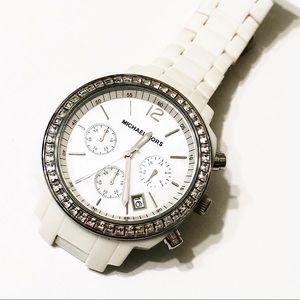 Michael Kors White Chronograph Watch MK-5079